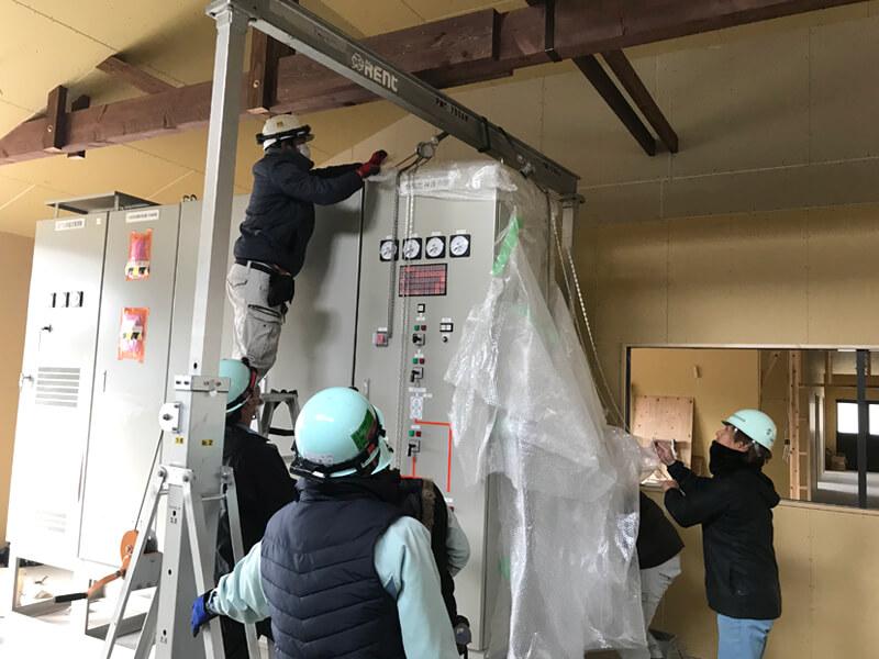 福岡分電盤設置工事