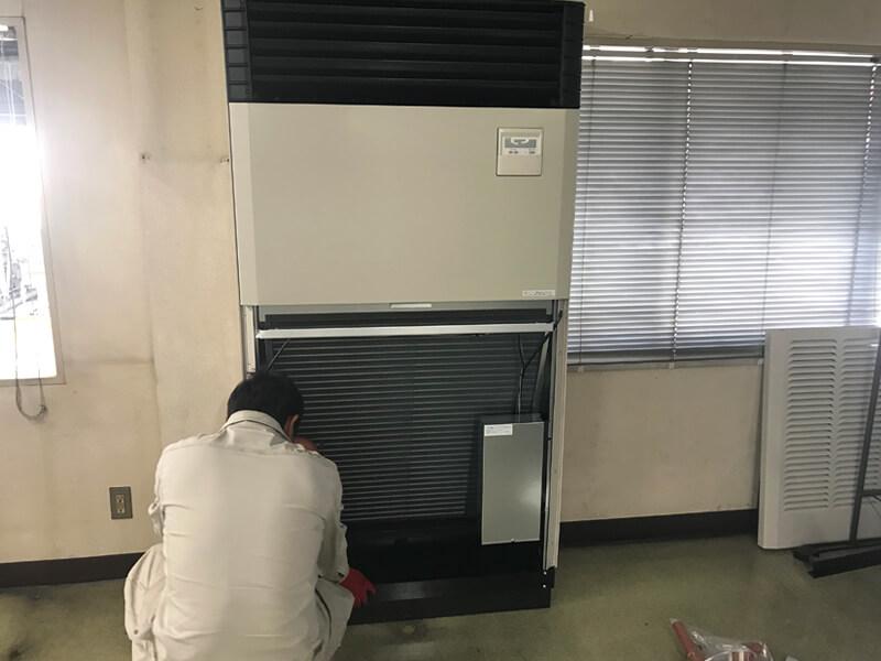 福岡県福岡市空調設備工事