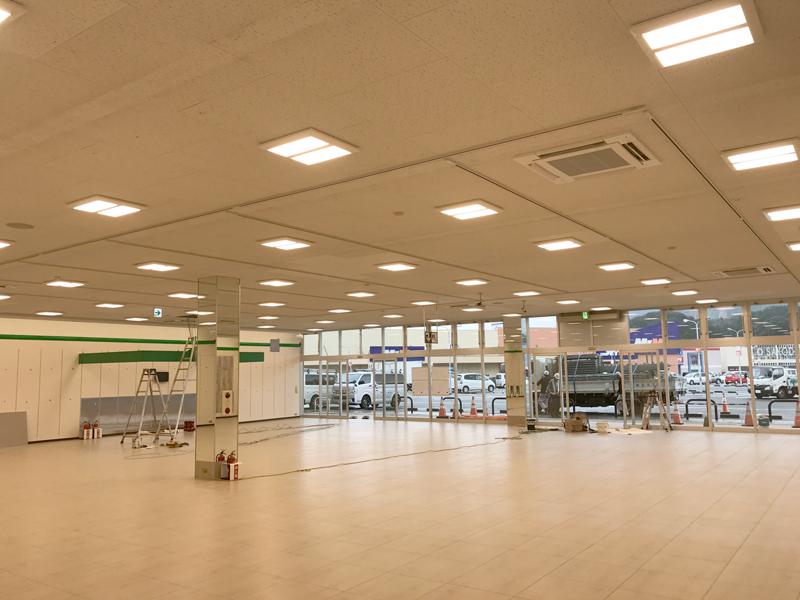 H29.11月福岡筑紫野店舗電気設備