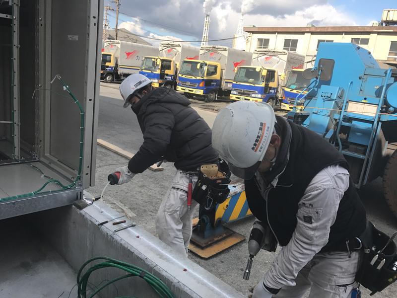 H29.2月福岡北九州ケミカルアンカー工事