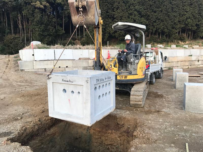 H29.4月福岡福津太陽光設備工事