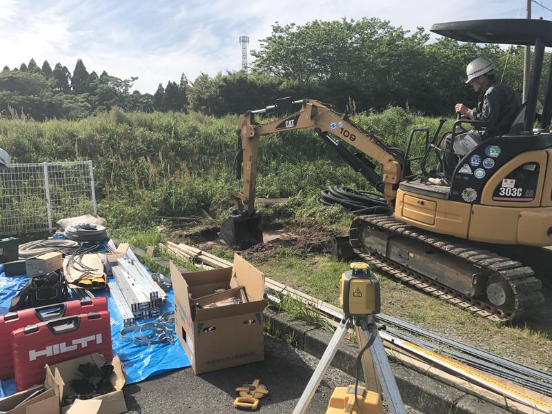 H29.5鹿児島枕崎基礎工事