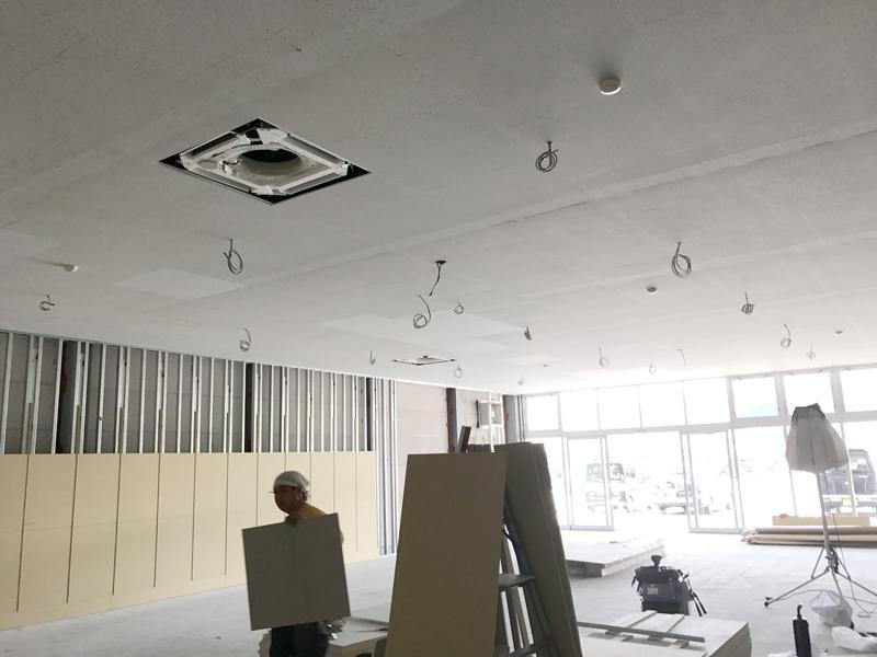 H29.8月福岡筑紫野店舗電気設備工事