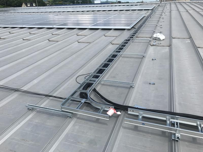 H29.8月北九州門司太陽光設備工事