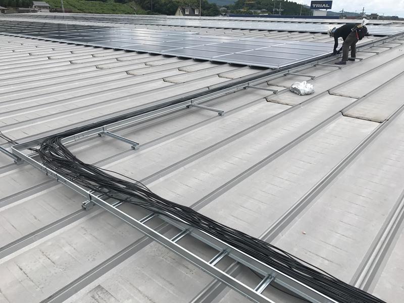 H29.8月福岡田川太陽光設備工事